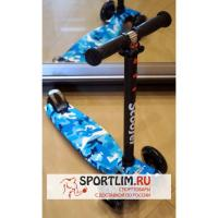 Самокаты Scooter 21st MAXI PRINT BLUE